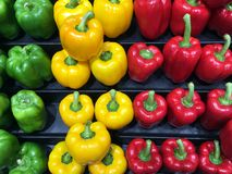 Colourful Capsicums Royalty Free Stock Photo