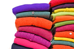 Colourful cashmere alpaca and merino wool Stock Photo