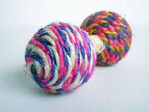 Colourful cat toy Royalty Free Stock Photography