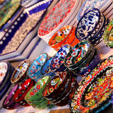 Colourful Ceramics Royalty Free Stock Photography