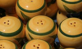 Colourful ceramics on the French Riviera Stock Photography