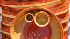 Colourful Ceramics On The French Riviera Royalty Free Stock Image