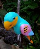 Colourful Ceramiczny ptak Zdjęcia Stock
