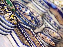 Colourful ceramika zdjęcie royalty free