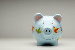 Colourful cermanic piggy bank  Royalty Free Stock Images