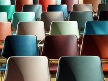 Colourful Chairs Stock Image
