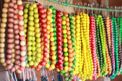 Colourful chaplet Stock Photo