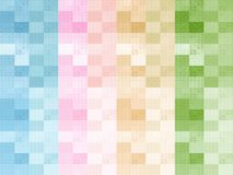 Colourful Checks Design Clothing Background. A colourful checks designed clothing texture background Royalty Free Stock Image