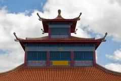 Colourful Chiński budynek obraz royalty free
