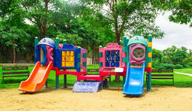 Colourful children playground Stock Photography