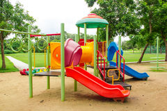 Colourful children playground Royalty Free Stock Photography