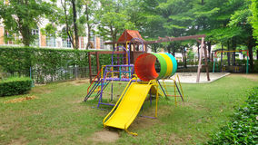 Colourful Children playground Royalty Free Stock Images