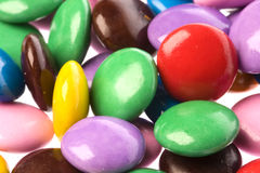 Colourful Chocolate Candies Royalty Free Stock Images