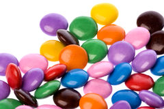 Colourful Chocolate Candies Stock Images