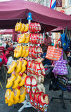 Colourful chodaki! Obrazy Stock