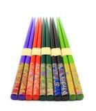 Colourful Chopsticks Stock Photo
