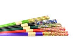 Colourful Chopsticks Royalty Free Stock Photos