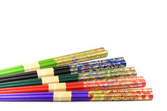 Colourful Chopsticks Stock Images