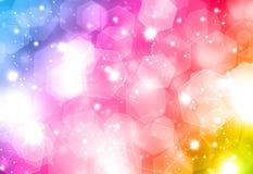 Colourful Christmas background Stock Image