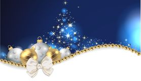 Colourful christmas background. Colourful and beautiful christmas decoration Stock Image