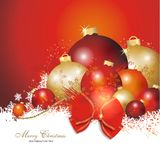 Colourful christmas background. Colourful and beautiful christmas decoration Royalty Free Stock Photos