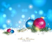 Colourful christmas background. Colourful and beautiful christmas decoration Royalty Free Stock Photography