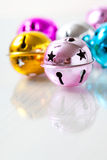 Colourful Christmas baubles Royalty Free Stock Image
