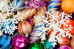 Colourful christmas decoration Royalty Free Stock Photos