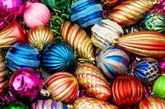 Colourful christmas decoration Stock Photos