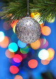 Colourful Christmas Tree Ornament Royalty Free Stock Images