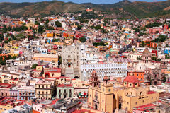 Colourful city of Guanajuato Stock Images