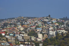 Colourful City of Valparaiso, Chile Stock Images