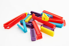 Colourful clip Stock Photo