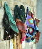 Colourful clothes stock photos