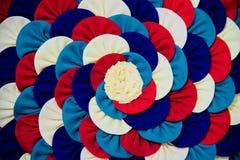 Colourful clothes made stylish design unique photo. Beautiful clothes made stylish artificial flower shape design unique royalty free image stock image