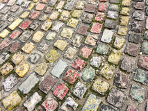Colourful Cobblestones  Royalty Free Stock Image