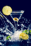 Colourful coctail Stock Photography