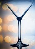 Colourful coctail glass on the light background Royalty Free Stock Image