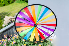 Colourful colorful pinwheel Royalty Free Stock Photo
