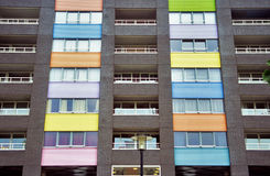Colourful Condos Royalty Free Stock Photos