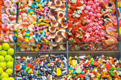 Colourful confectionary for sale Royalty Free Stock Photos