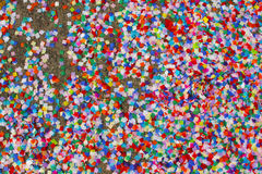 Colourful confetti Royalty Free Stock Photo