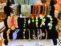 Colourful Costume Jewellery Royalty Free Stock Photo