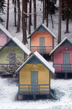 Colourful cottages Royalty Free Stock Photo