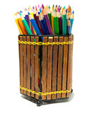 Colourful crayons Stock Photography
