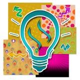 Colourful Creative Idea Stock Image