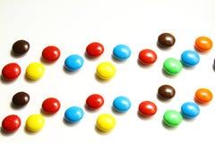 Colourful cukierki lub cukierek Zdjęcia Stock