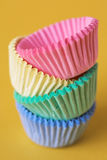 Colourful cupcake cases Royalty Free Stock Photography