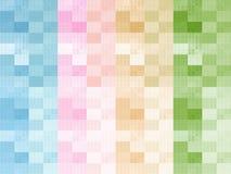 Colourful czeka projekta Ubraniowy tło Obraz Royalty Free