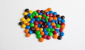 Colourful czekoladowy cukierek Zdjęcie Stock
